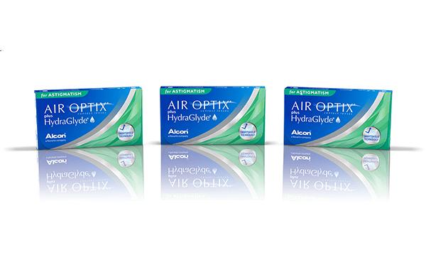 Air Optix toric Hydraglyde
